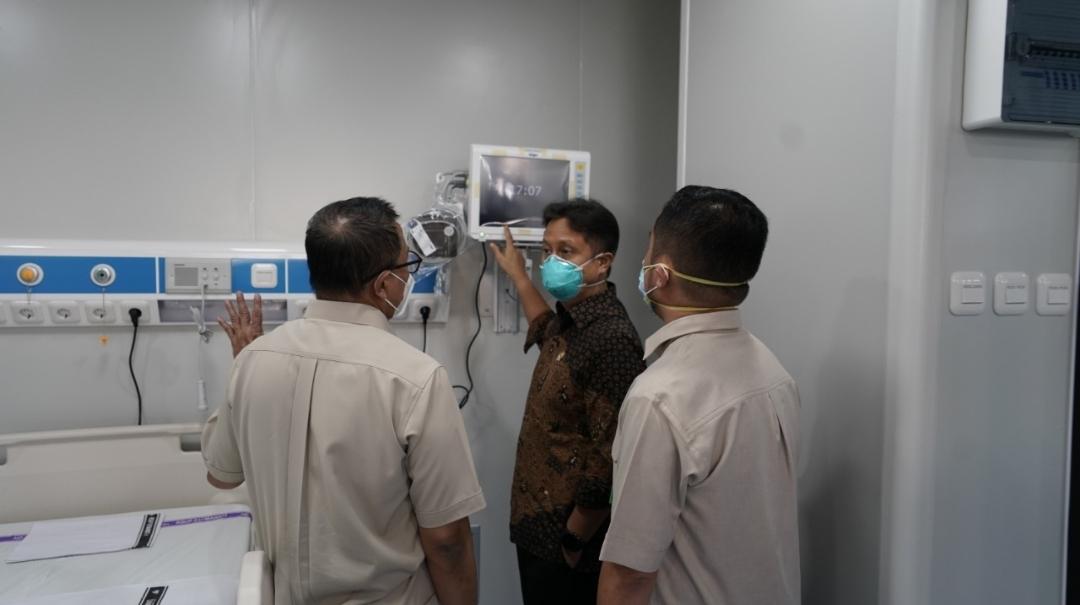Menkes Budi Gunadi Sadikin kunjungi rumah sakit