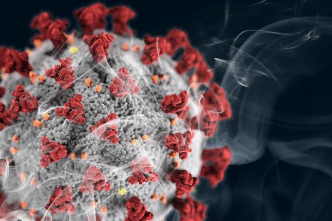 Merokok Rentan terinfeksi COVID